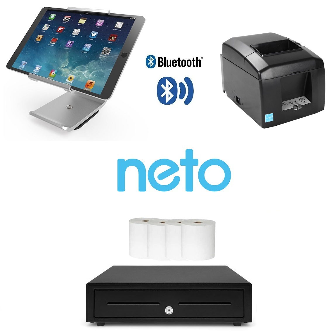 View Neto Star Bluetooth iPad POS Bundle