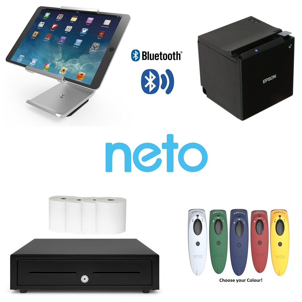 Neto iPad POS Scanning Bundle