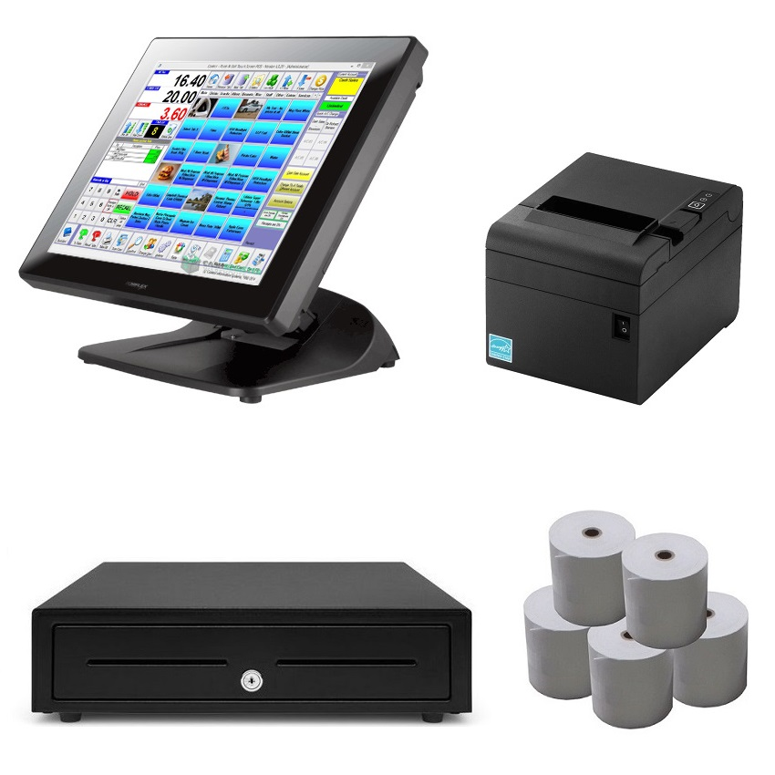 View Posiflex PS-3415E POS System Bundle - Software Included