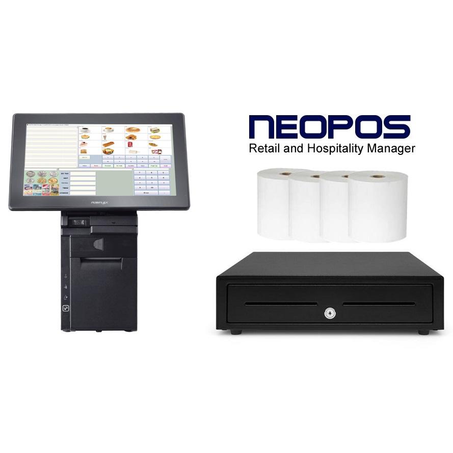 View Posiflex HS-3514 NeoPOS System Bundle