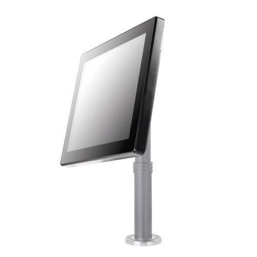 "View Posiflex LM-3115 15"" Bezel-Free LCD Monitor Black no Stand"