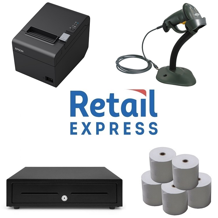 View Retail Express POS Hardware Bundle #1