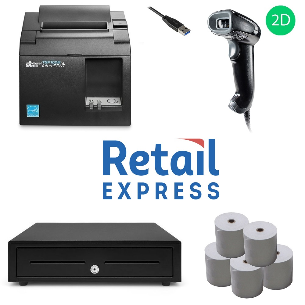 View Retail Express POS Hardware Bundle #11