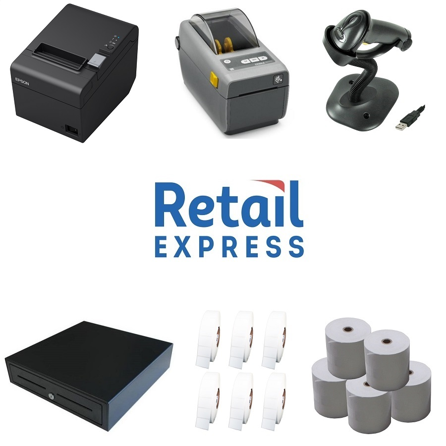 View Retail Express POS Hardware Bundle #4