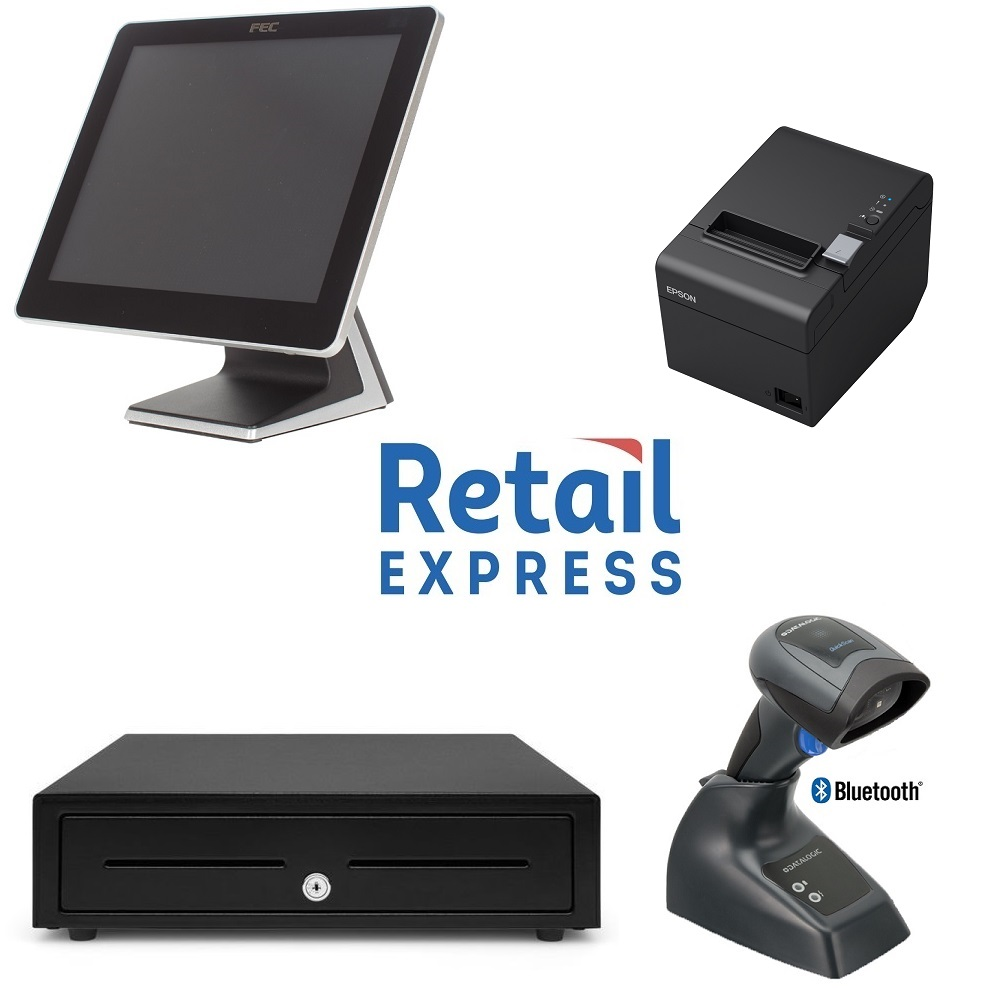 View Retail Express POS Hardware Bundle #8