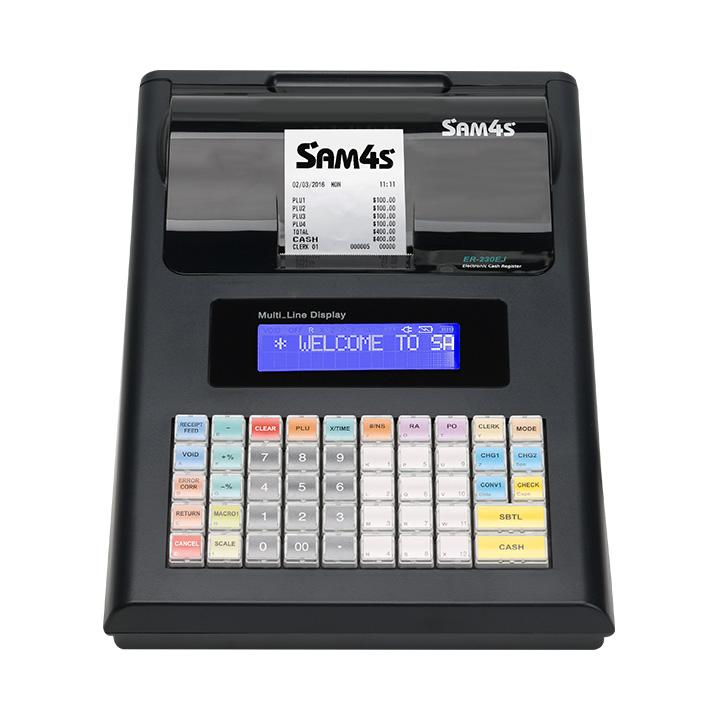 View Sam4s Er230 Portable Cash Register - Batteries Included