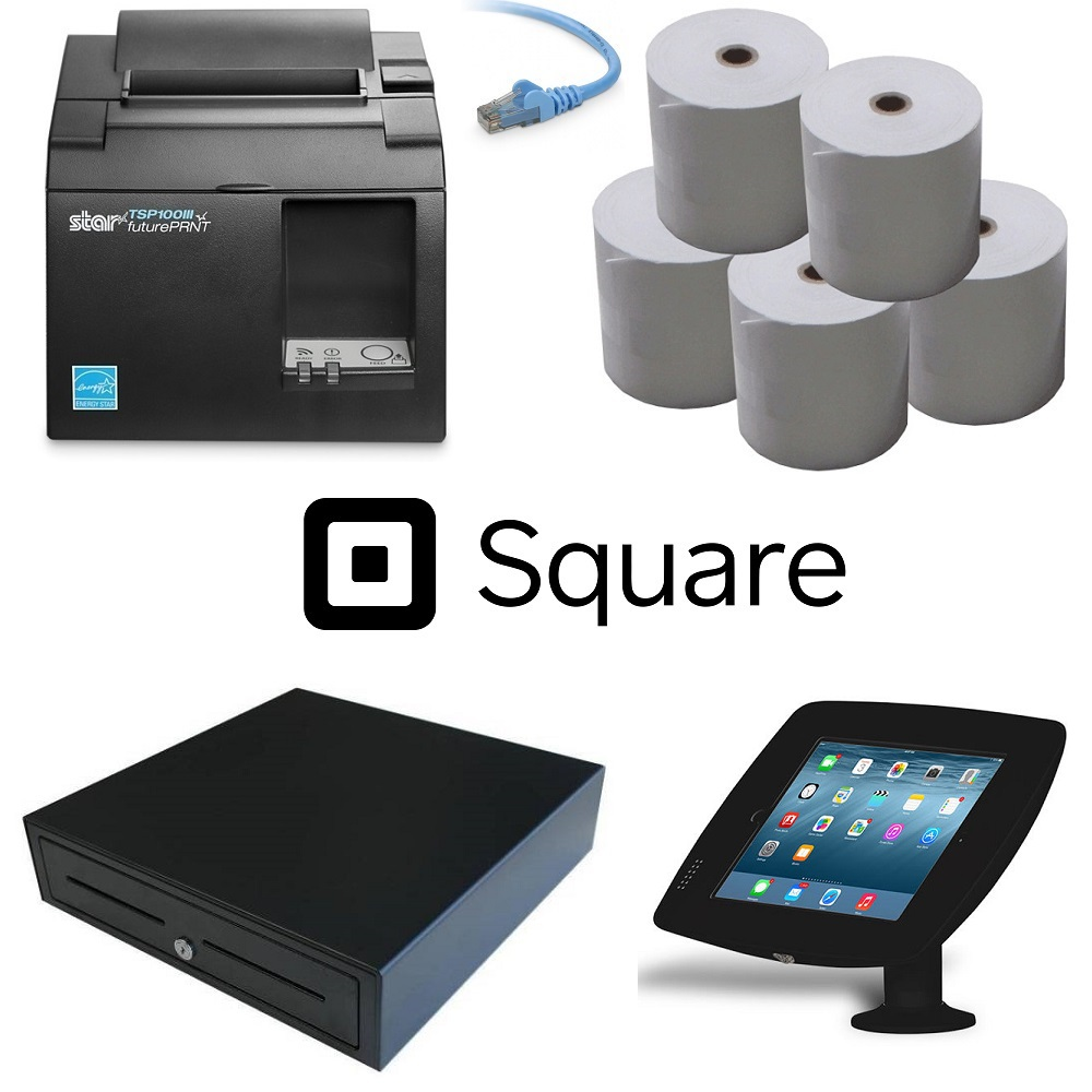 View Square Pos Hardware Bundle #3