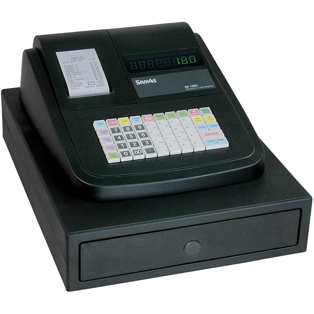 Sam4s Er-180u Cash Register - Small Drawer