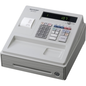 Sharp Xea107 Cash Register White