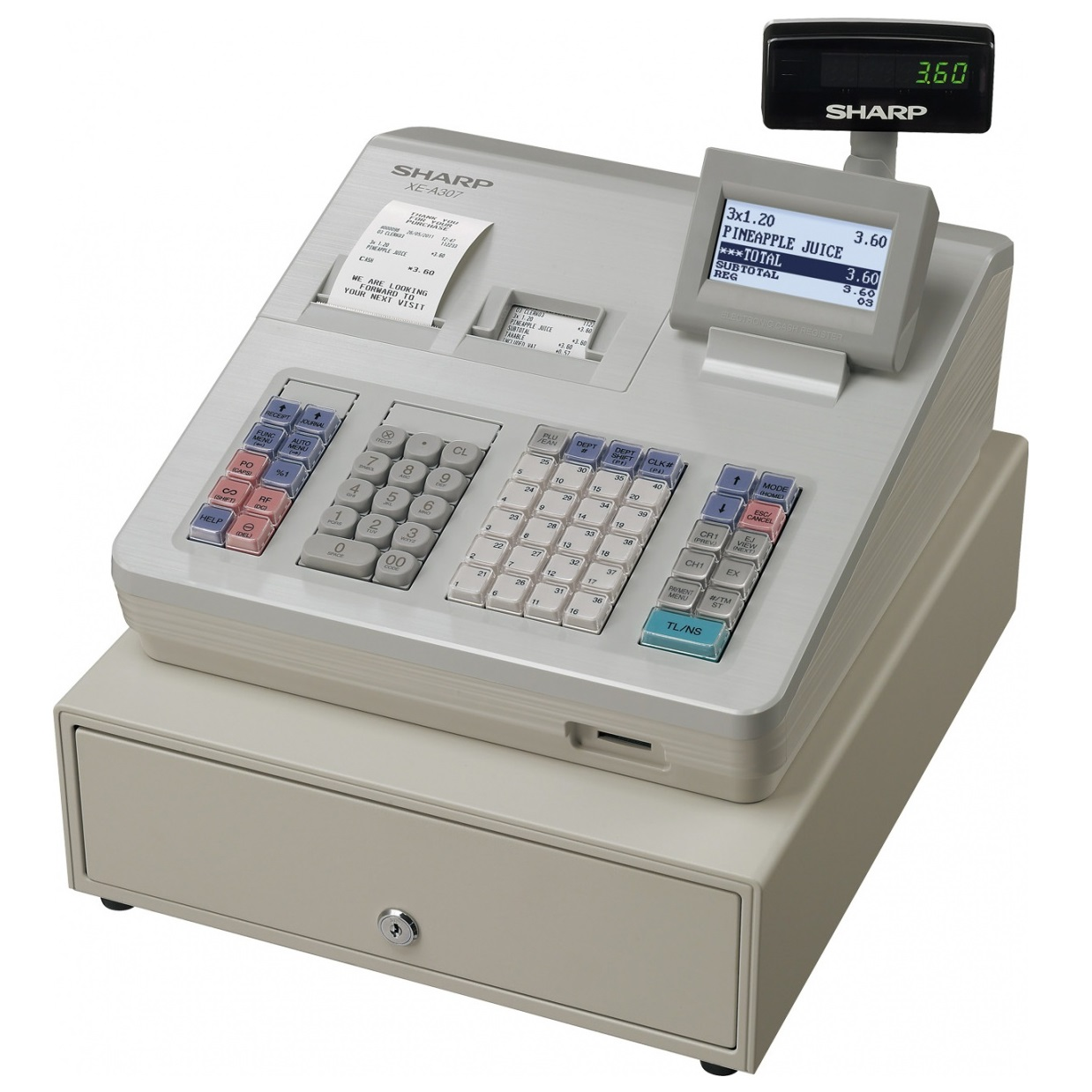 View Sharp Xea307 Cash Register