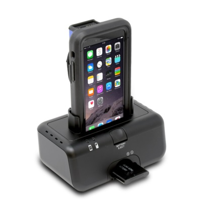 View Single Station Charger for Linear Pro 7 with Rugged Case