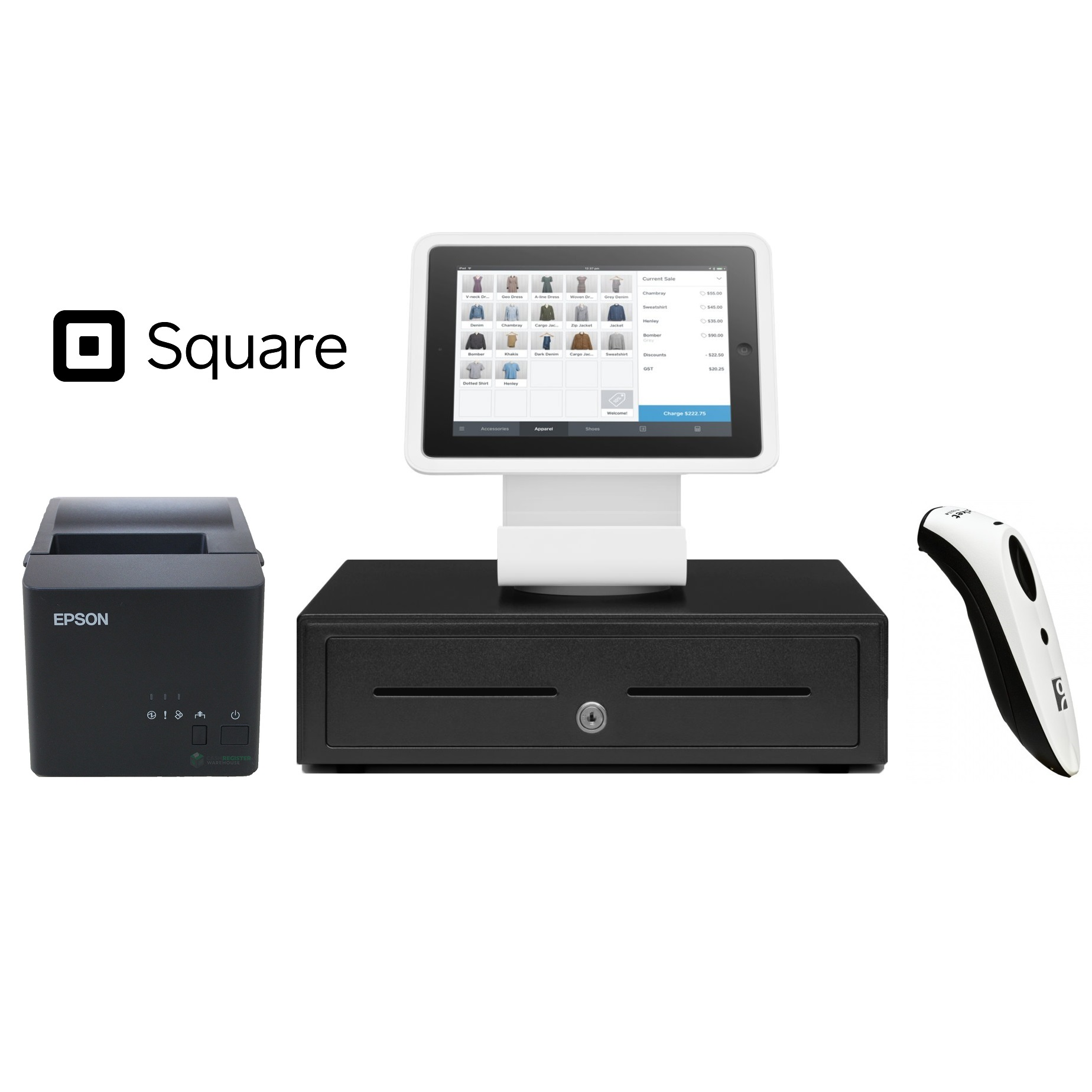 Square Stand POS Hardware Bundle #7