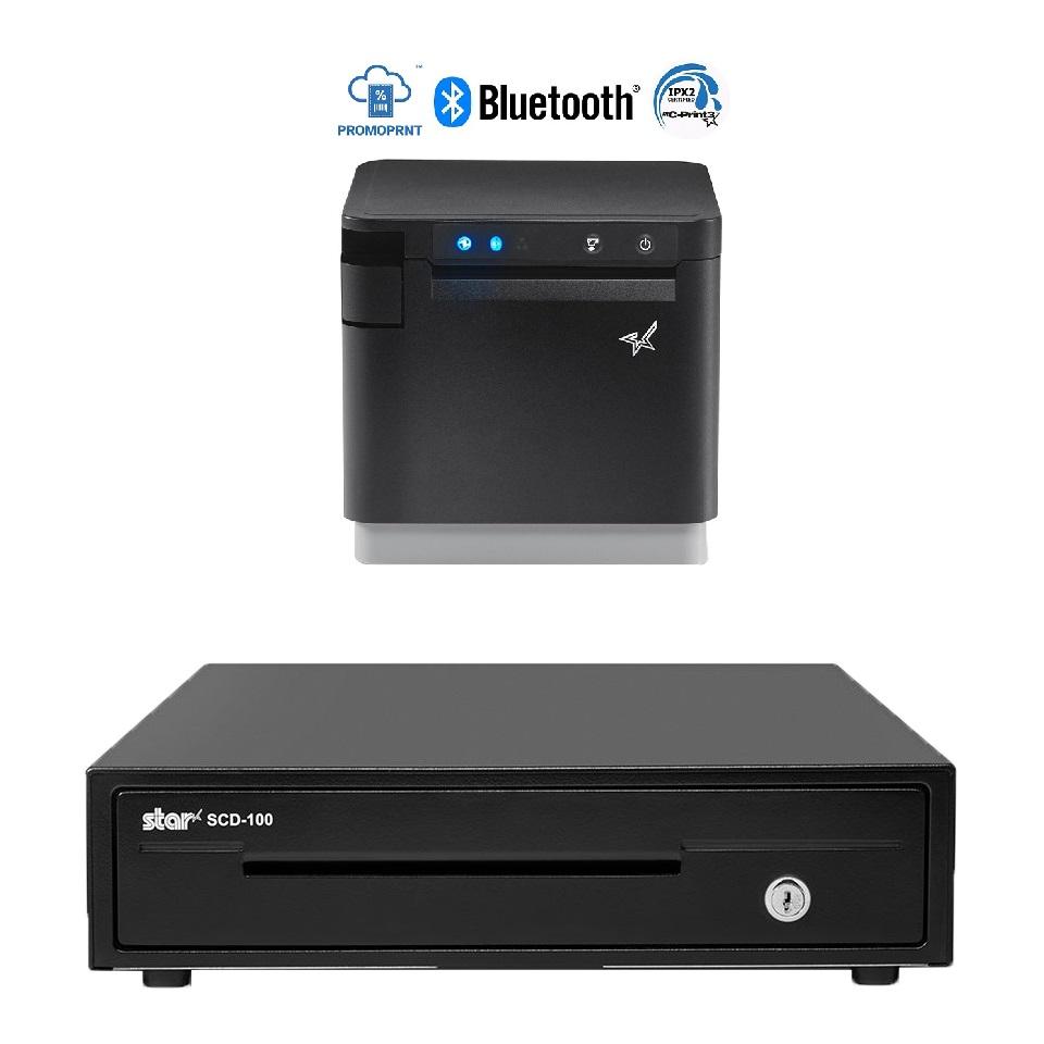 View Star MC-Print3 Receipt Printer + SCD-100 Cash Drawer Bundle