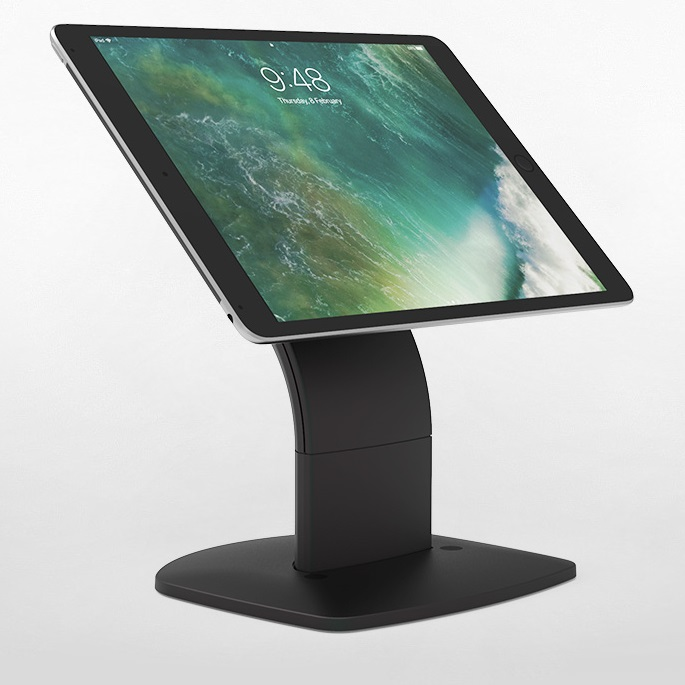 View Touch Evo Free Standing Universal Tablet Stand Black