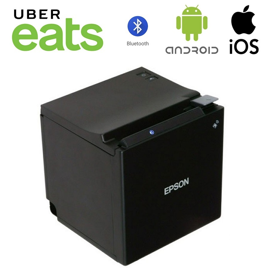 View Uber Eats Epson TM-M30 Bluetooth Receipt Printer Black