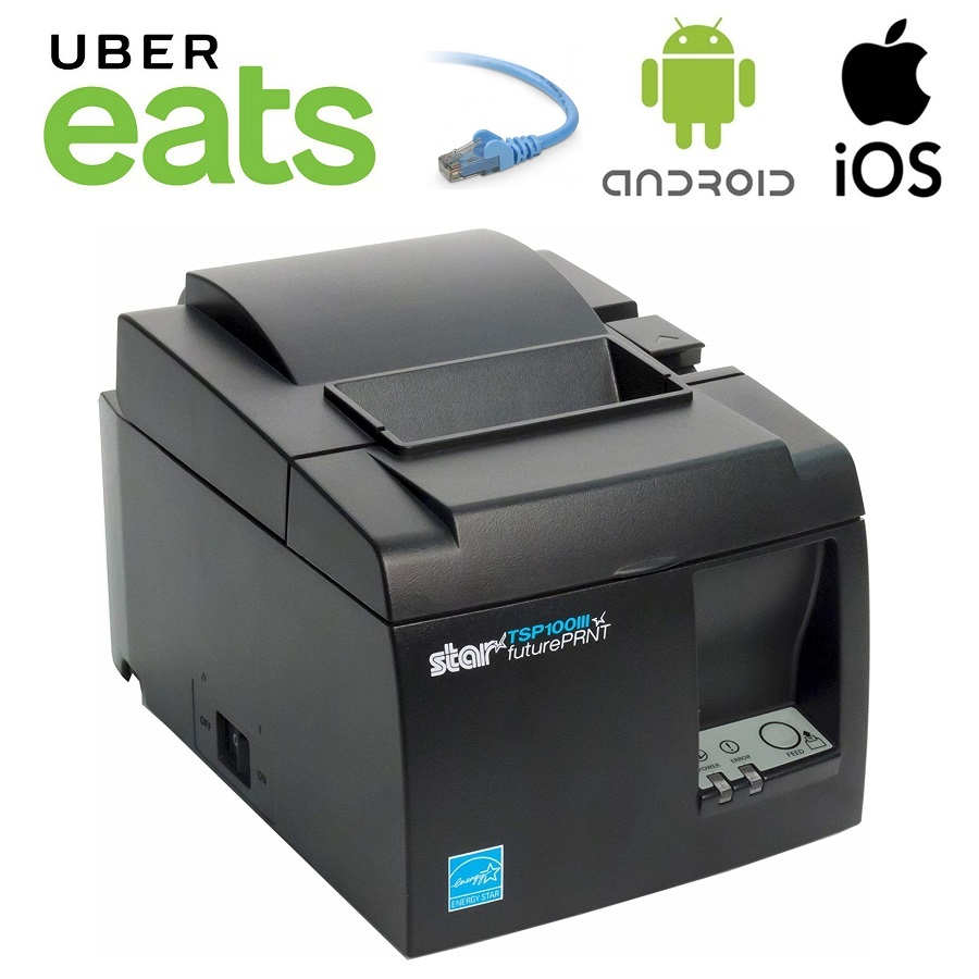View Uber Eats TSP143III LAN Thermal Receipt Printer
