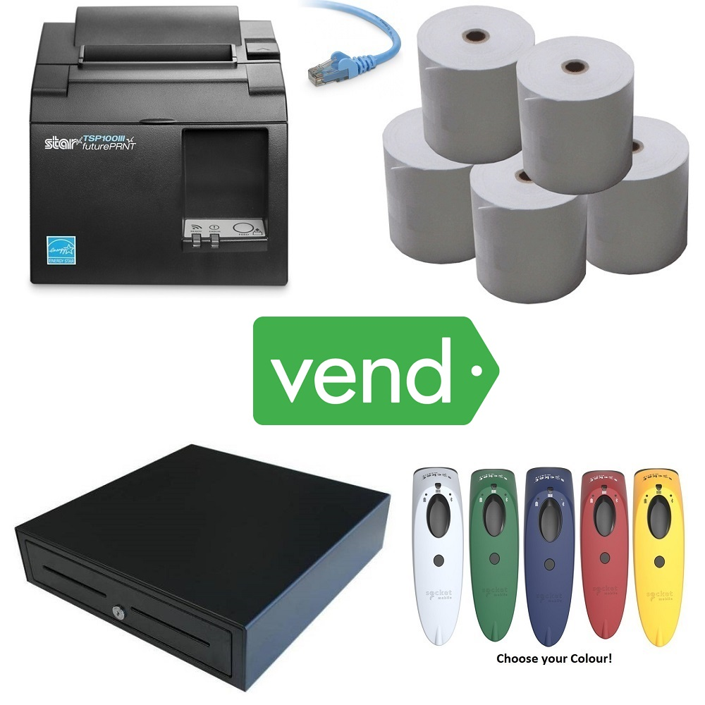 View Vend Pos Hardware Bundle #7