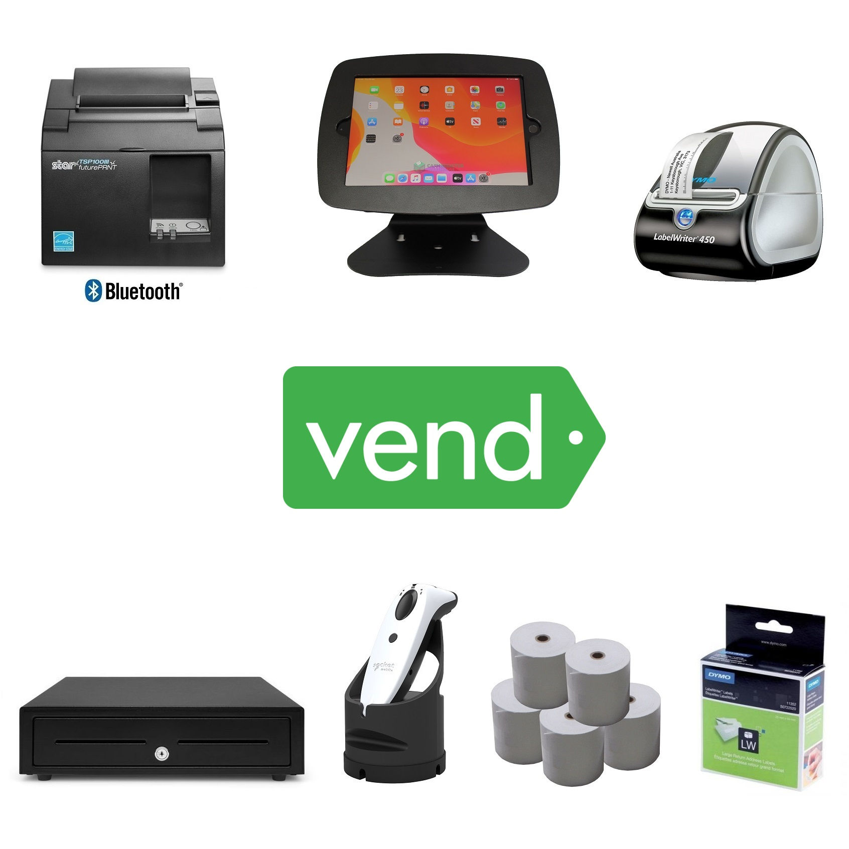 View Vend POS Hardware Bundle #19