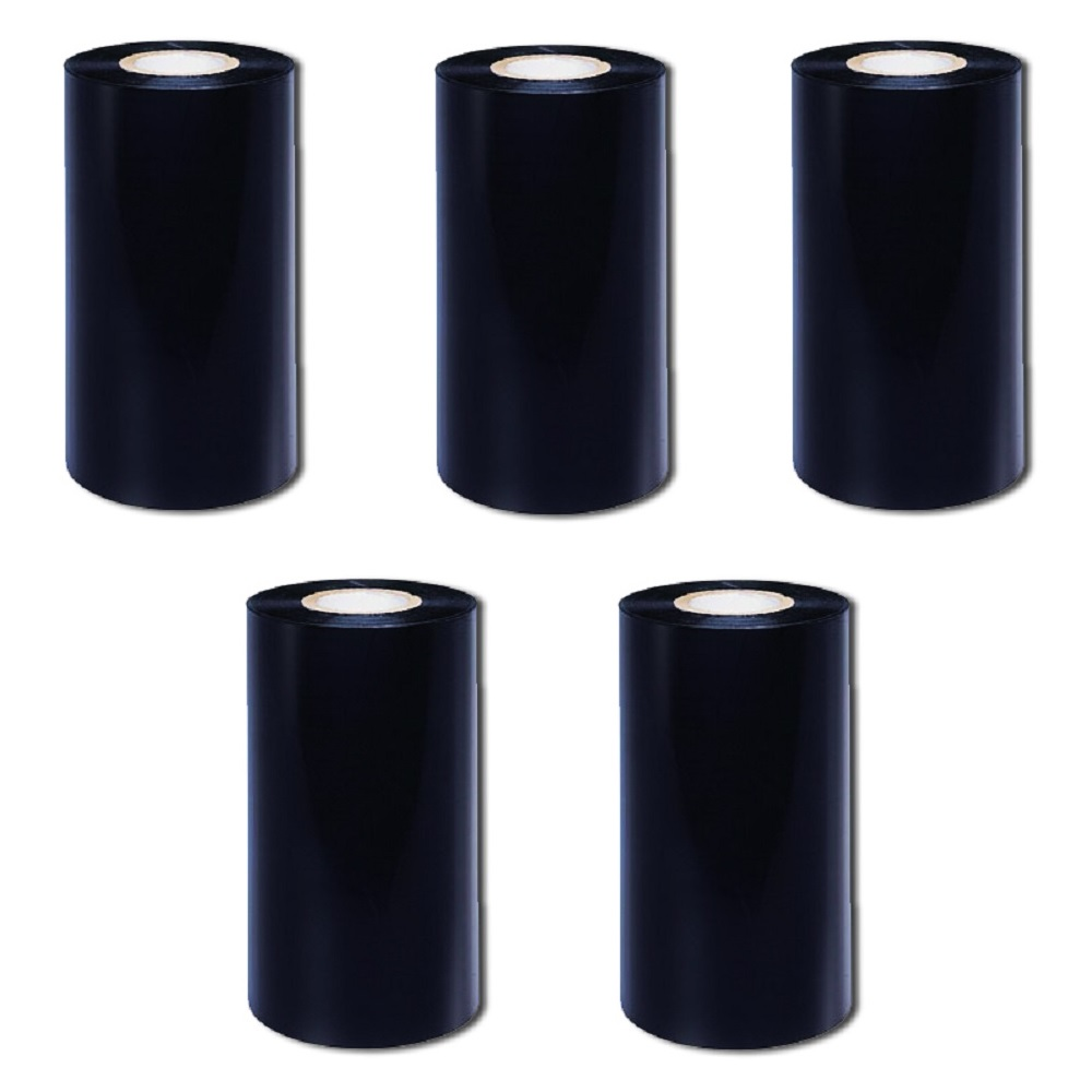 View 110 X 70 Wax/resin Ribbon Cso Desktop - 5 Rolls
