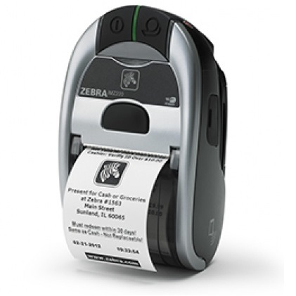 View Zebra Imz220 Mobile Printer Bt Usb