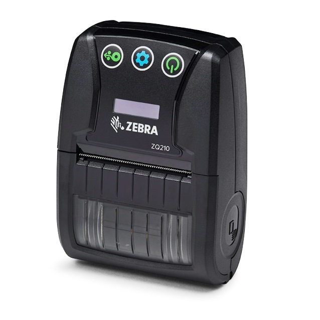 "Zebra ZQ210 2"" Mobile Bluetooth Printer"