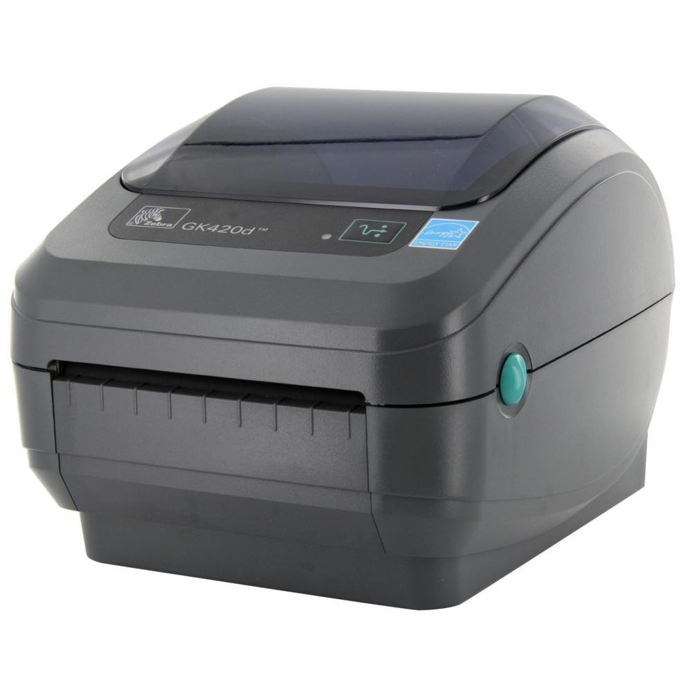 View Zebra Gk420d Direct Thermal Label Printer USB