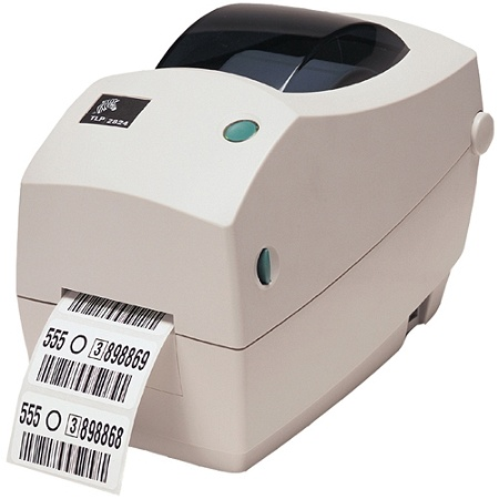 View Zebra TLP2824 Plus Thermal Transfer Label Printer Serial & USB