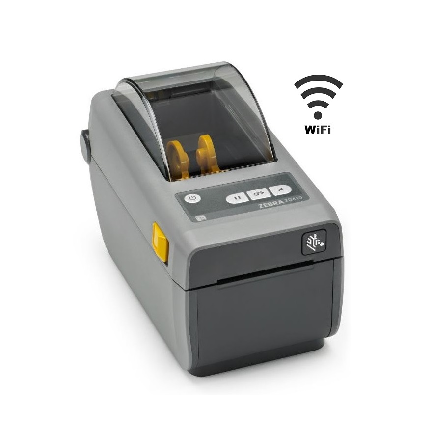 View Zebra ZD-410 Wireless Label Printer
