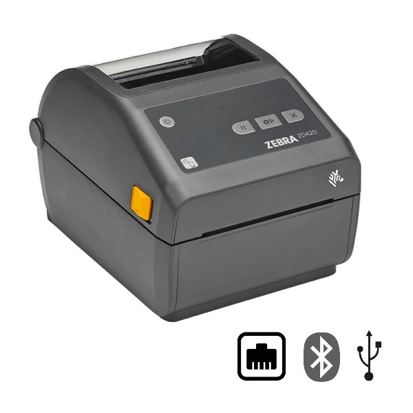 View Zebra ZD420 Direct Thermal Label Printer Bluetooth, Ethernet & USB