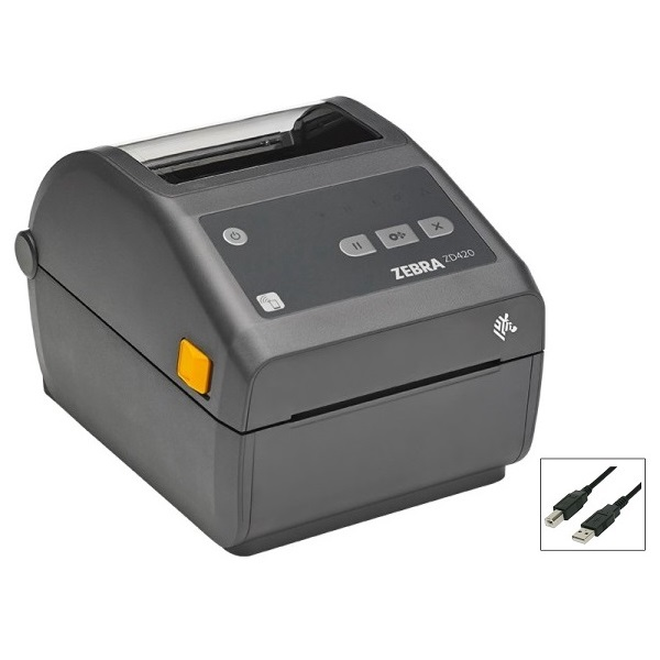View Zebra ZD420 USB Direct Thermal Label Printer