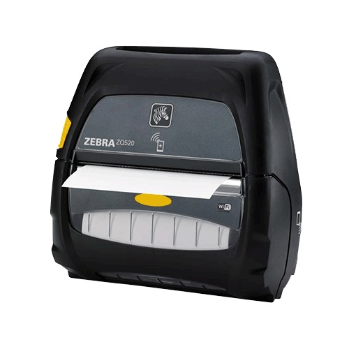 View Zebra ZQ520 4 Inch Mobile Printer with Bluetooth 4.0