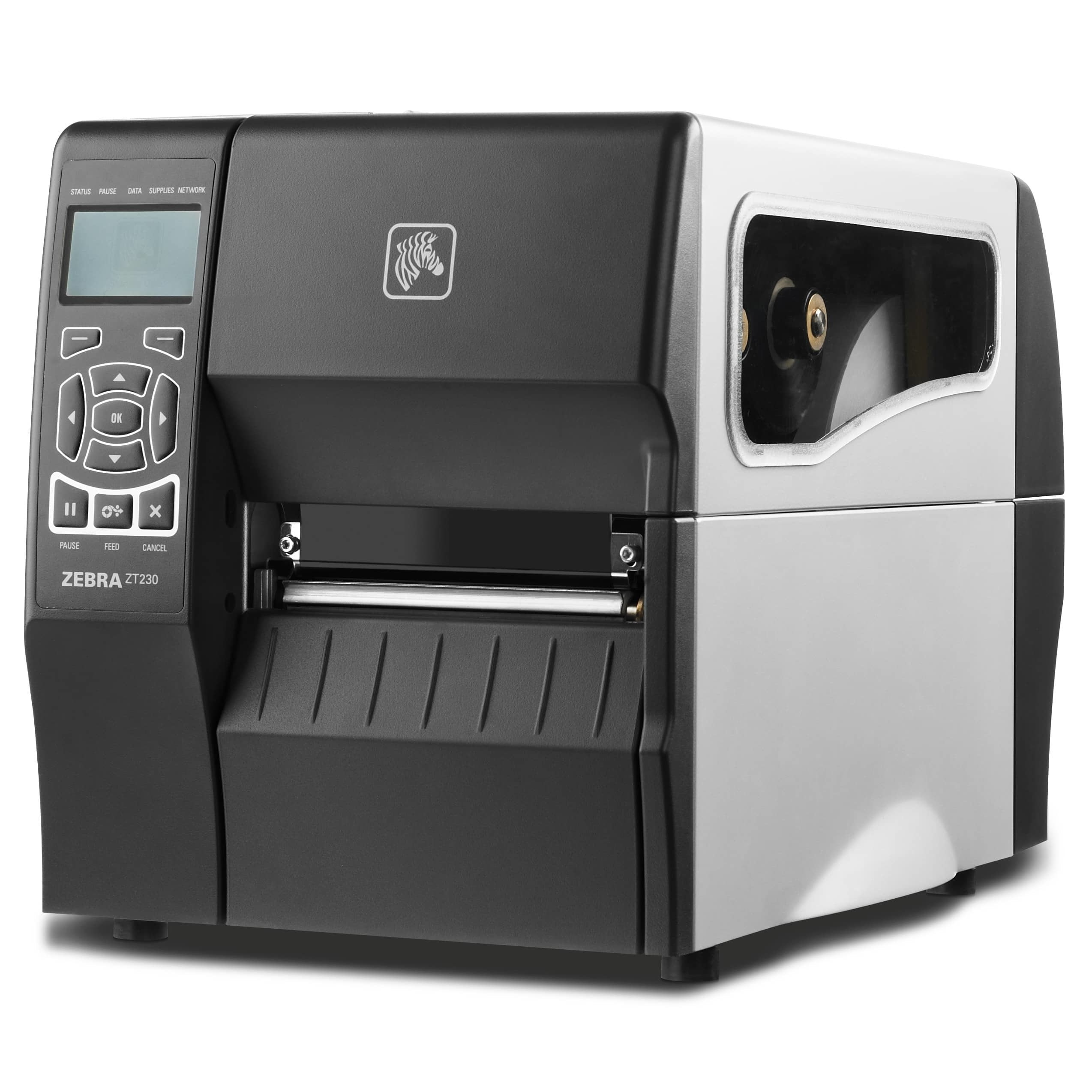 View Zebra ZT230 Midrange Label Printer with USB, Serial & Ethernet Interface