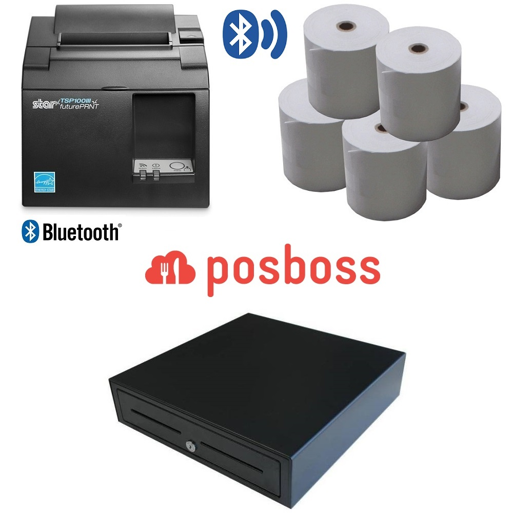 View posBoss POS Hardware Bundle #3