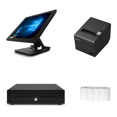 Element 455 + Epson TM-T82III POS Hardware Bundle