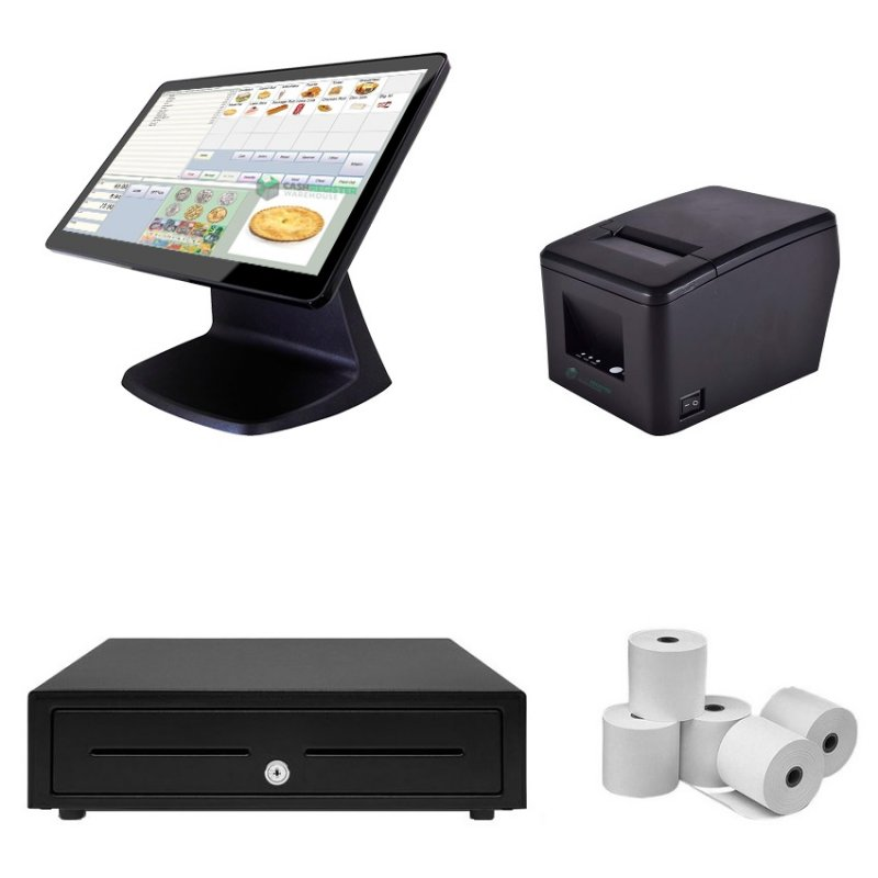 NeoPOS CA250W Touch Screen POS System Bundle