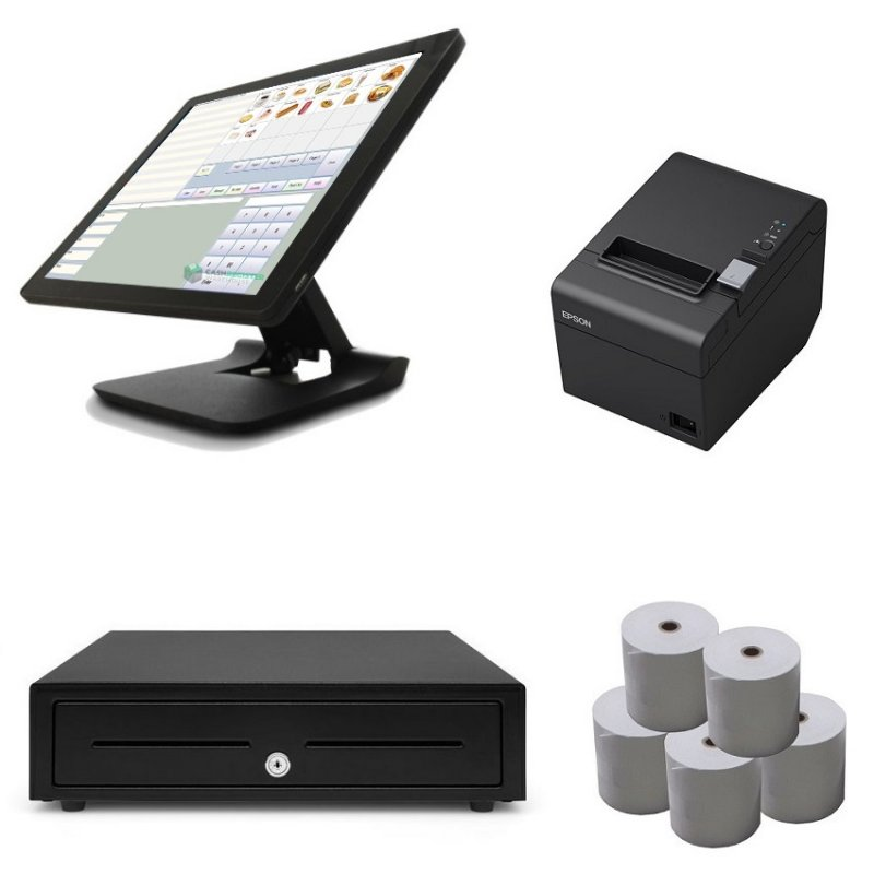 NeoPOS Element 455 Touch Screen POS Bundle