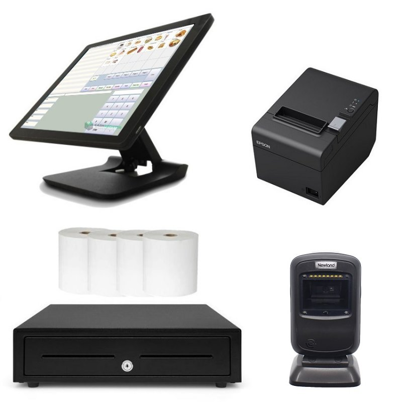 NeoPOS POS System Bundle with Newland FR4080 Barcode Scanner