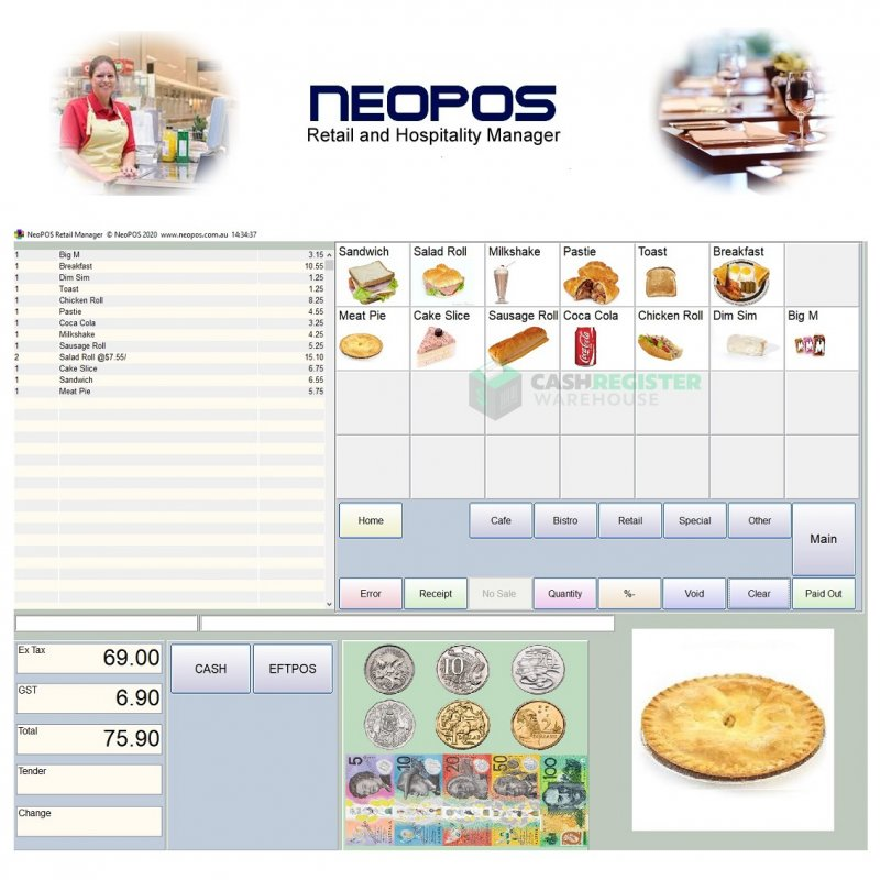 NeoPOS Retail & Hospitality Point of Sale Software