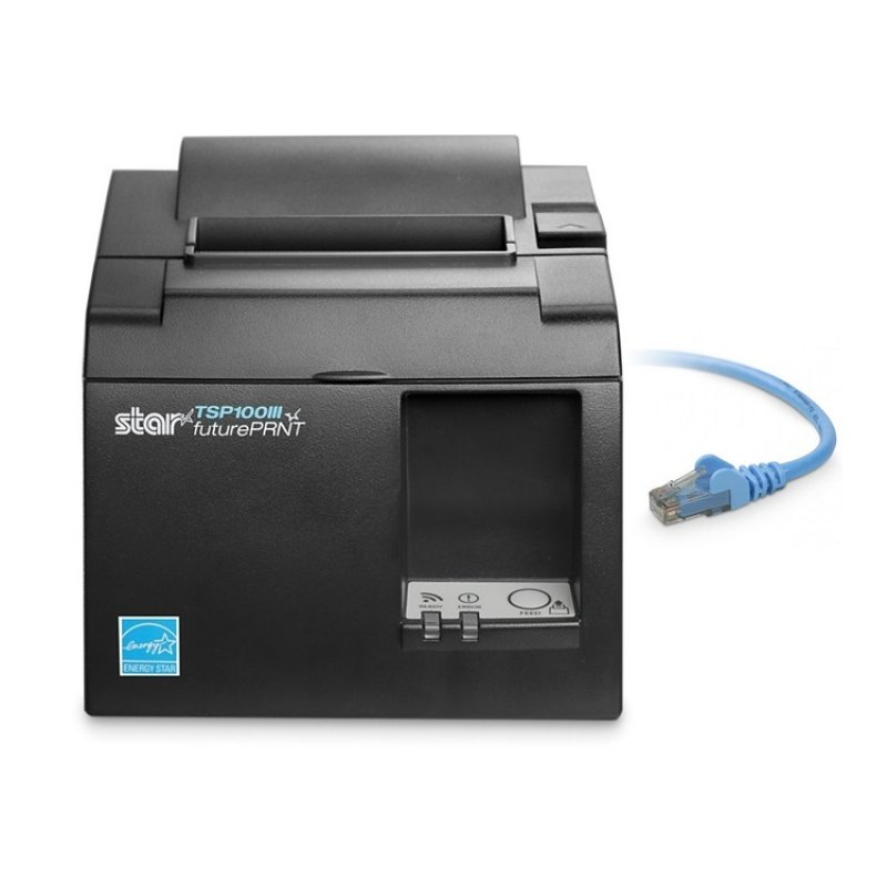 Star Tsp143iii Lan Thermal Receipt Printer Ethernet