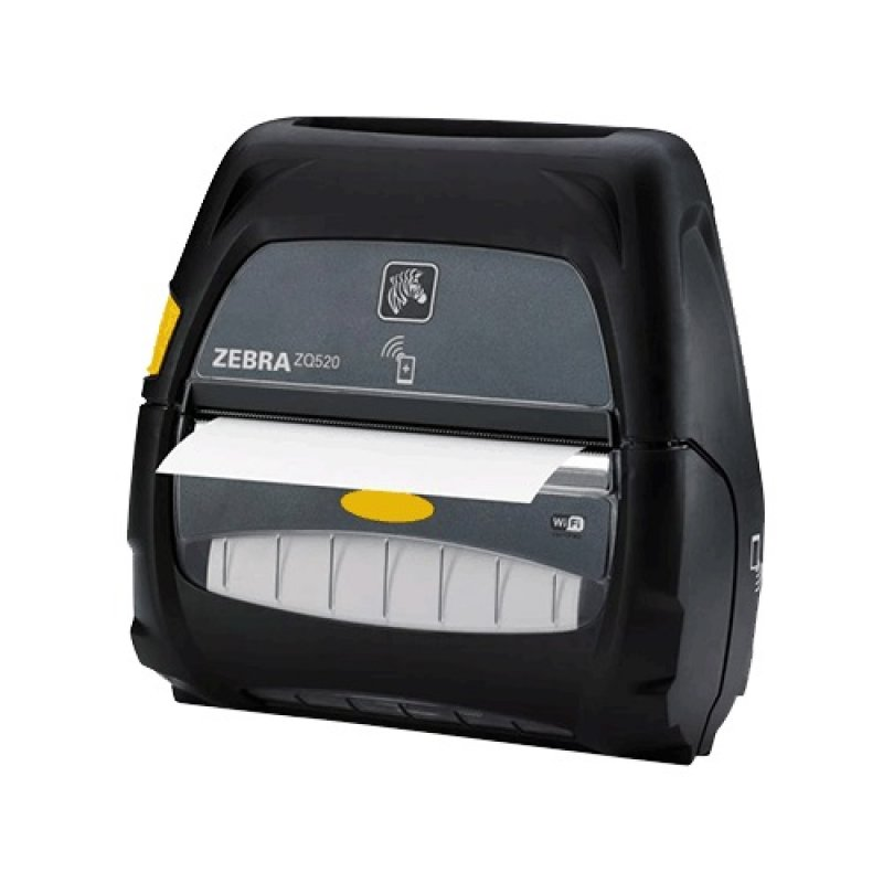 Zebra ZQ520 4 Inch Mobile Printer with Bluetooth 4.0